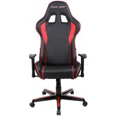 DXRacer Formula FL08 Gaming Chair Black & Red - Sparco Style Neck/Lumbar Support/NB Gaming/Office/Ergonomic Desk Chair/Black PU Leather OH/FL08/NR