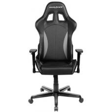DXRacer Formula FL57 Gaming Chair Black & Carbon Grey - Sparco Style Neck/Lumbar Support/NB Gaming/Office/Ergonomic Desk Chair/Black PU Leather OH/FL57/NG