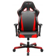 DXRacer Tank TS29 Gaming Chair Black & Red - Sparco Style Neck/Lumbar Wide Seating Support/Maximum load 220kg/Universal Gaming Padded Seat OH/TS29/NR