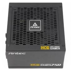 Antec HCG-750G 750w 80+ Gold Fully Modular PSU, 120mm FDB Fan, 100% Japanese Caps, DC to DC, Compact Design. 10 Years Warranty HCG750 GOLD