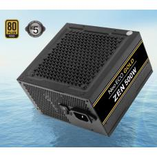 Antec Neo Eco ZEN 500w, 80+ Gold, 120mm Silent Fan, Thermal Manager, High Performance Durable Japanese Capacitors, ATX Power Supply, PSU, 5Yrs Wty NE500G ZEN