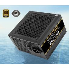 Antec Neo Eco ZEN 700w PSU 80+ Gold, 120mm Silent Fan, 2x EPS 8PIN. Thermal manager, Japanese Caps, ATX Power Supply, PSU, 5 Years Warranty NE700G-ZEN