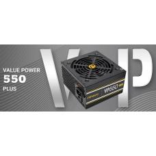 Antec VP550P PLUS 500w PSU. 80+ @ 85% Efficiency AC120-240V, Continuous Power, 120mm Silent Fan. 3 Years Warranty VP550P-PLUS