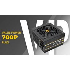 Antec VP700 PLUS 700w PSU. 120mm Silent Fan, PLUS 2019 version. MEPS Compliant. 3 Years Warranty VP700P PLUS