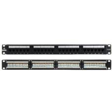 LinkBasic 24 Port Cat6A UTP Patch Panel Rack Mount PNA24-UC6A