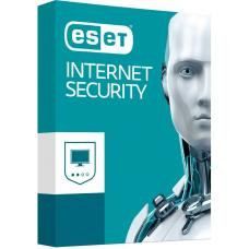ESET Internet Security (Advanced Protection) OEM 3 Devices 1 Year Download - Includes 1x Physical Printed Download Card AV-ESISOEM-3D1Y