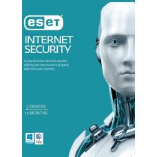 ESET Internet Security OEM 3 Devices 1 Year Download Physical Printed Card EISH3D1Y