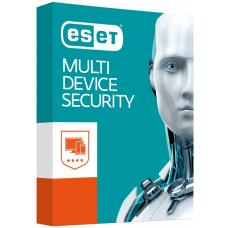 ESET Multi Device Security (Advanced Protection) 3 Windows PCs or Macs or Linux + 3 Android Devices 1 Year - Includes 1x Physical Printed Download AV-ES-EMDSR31Y