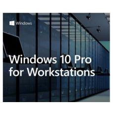 Microsoft Windows 10 PRO for Workstation 64BIT only Server Grade Data Protection, Advanced Performance HZV-00055