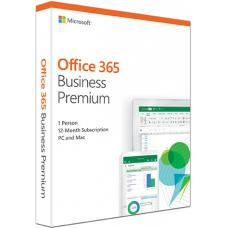 Microsoft Office 365 Business Premium Retail English 1YR Subscription Media less KLQ-00431