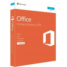 Microsoft Office Home & Business 2016 (32/64-bit) - No DVD Retail Box SP2 > SMS-OFHB2019-ML T5D-02877