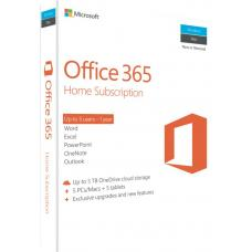 Microsoft Office 365 Home Mac/Windows, No DVD Retail Box. Up to 5 Users - 1 Year Subscription > SMS-OF365H-1YRML-6U 6GQ-00752