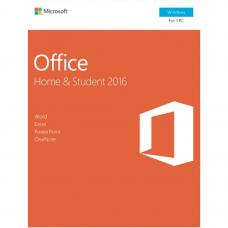 Microsoft Office Home & Student 2016 - No DVD Retail Box 79G-04751