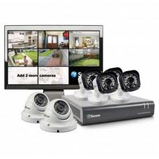 Swann DVR8-1580 8 Channel 720p HD Digital Video Recorder, 4 x PRO-T835 & 2 x PRO-T836 Cameras & 15 LCD Monitor SWDVK-815806M