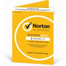 Norton Antivirus 2018, 1 User, 1 Device, 12 Months, PC Only, OEM 21370505