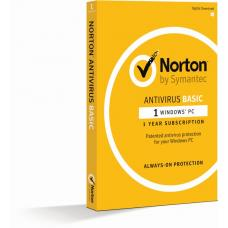 Norton Antivirus Basic 1.0 1 User, 1 Device, 12M Subscription - Retail Box 21370509