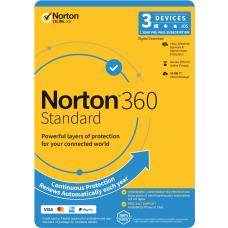 Norton 360 Standard, 10GB, 1 User, 3 Devices, 12 Months, PC, MAC, Android, iOS, DVD, OEM, Subscription 21396503