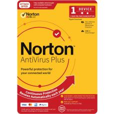 Norton Anti Virus Plus 2020, 2GB, 1 User, 1 Devices, 12 Months, PC, MAC, Android, iOS, DVD, Subscription 21396448