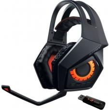 ASUS ROG STRIX Wireless gaming headset 10+ hour battery life ROG STRIX Wireless