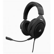 CORSAIR HS60 STEREO 7.1 Surround Gaming Headset, Black with White Trim. CA-9011174-AP