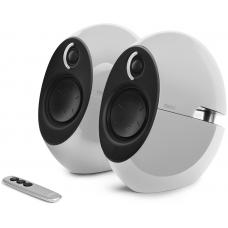 Edifier E25HD LUNA HD Bluetooth Speakers White - BT 4.0/3.5mm AUX/Optical DSP/ 74W Speakers/ Curved design/Dual 2x3 Passive Bass/Wireless Remote E25HD-WHITE