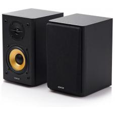 Edifier R1000T4 Ultra-Stylish Active Bookself Speaker - Uncompromising Sound Quality for Home Entertainment Theatre - 4inch Bass Driver Speakers BLACK  R1000T4-BLACK