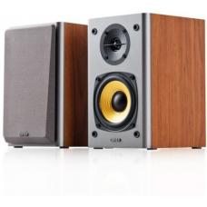 Edifier R1000T4 Ultra-Stylish Active Bookself Speaker - Uncompromising Sound Quality for Home Entertainment Theatre - 4inch Bass Driver Speakers BROWN  R1000T4-BROWN