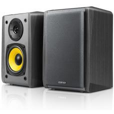 Edifier R1010BT - 2.0 Lifestyle Bookshelf Bluetooth Studio Speakers Black - 3.5mm AUX/RCA/BT/Connects 2 Bluetooth devices/Built-in amplifier BLACK  R1010BT-BLACK