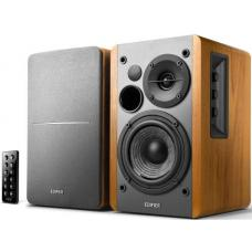 Edifier R1280DB - 2.0 Lifestyle Bookshelf Bluetooth Studio Speakers Brown - 3.5mm AUX/RCA/BT/Optical/Coaxial Connection/Wireless Remote R1280DB-BROWN R1280DB-BROWN