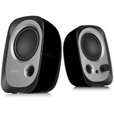 Edifier R12U USB Compact 2.0 Multimedia Speakers System (Black)- 3.5mm AUX/USB/Ideal for Desktop, Laptop, Tablet or Phone R12U-BLACK