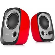Edifier R12U USB Compact 2.0 Multimedia Speakers System (Red) - 3.5mm AUX/USB/Ideal for Desktop, Laptop, Tablet or Phone R12U-RED