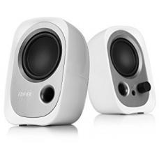 Edifier R12U USB Compact 2.0 Multimedia Speakers System (White) - 3.5mm AUX/USB/Ideal for Desktop, Laptop, Tablet or Phone11 x360 R12U-WHITE