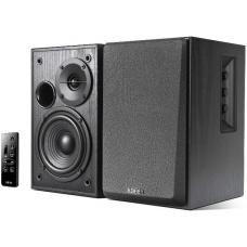 Edifier R1580MB - 2.0 Lifestyle Active Bookshelf Bluetooth Studio Speakers Black /BT4.0/AUX/Bass/Dual Microphone Input for Social Events and Meetings R1580MB