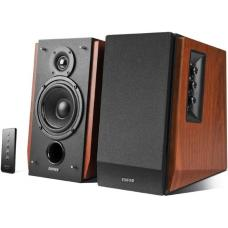 Edifier R1700BT Bluetooth Lifestyle Bookshelf Studio Speakers Brown - BT/Dual 3.5mm AUX/Limited Distortion DSP/DRC/Classic Wood Finish/Wireless Remote R1700BT-BROWN R1700BT-BROWN