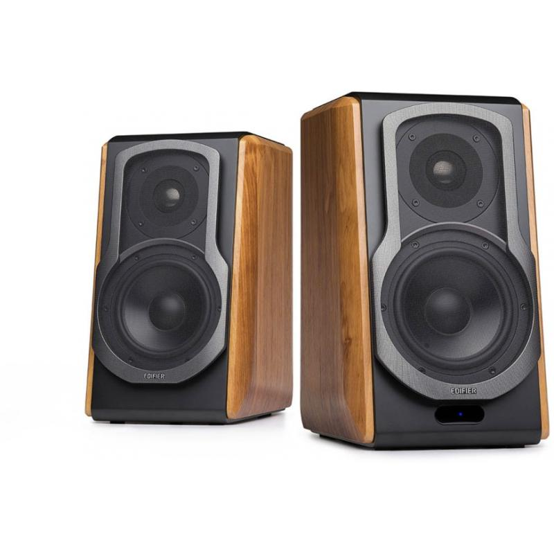 Edifier S1000DB - 2.0 Lifestyle Bookshelf Bluetooth Studio Speakers Browm S1000DB