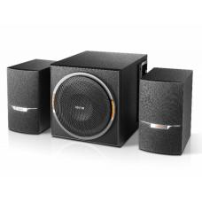 Edifier XM3BT 2.1 Bluetooth Multimedia Speakers - BT4.1/3.5mmAUX/USB/SD/FM Radio Turner/ LED Lighting Effect/ 38W RMS/MDF Wooden Enclosure XM3BT