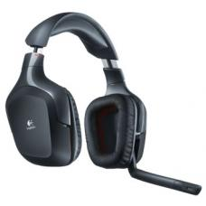 Logitech G930 Wireless Gaming Headset 7.1 Surround Sound 10 hours Advanced 2.4 Ghz Wireless Three Programmable G-Keys Noise-Cancelling Mic 981-000533 981-000533