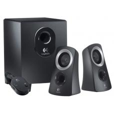 Logitech Z313 Speakers 2.1 2.1 Stereo, Compact Subwoofer Rich sound Simple setup Easy controls - 980-000414 980-000414