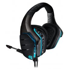 Logitech G633 Artmeis Spectrum RGB 7.1 surround Headset RGB Lighting Custom sound profiles Multi-source audio mixing Noise cancelling mic- 981-000606 981-000606