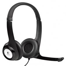 Logitech H390 USB Headset Adjustable, USB, 2 Years Noise cancelling mic In-line audio controls 981-000485