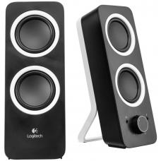 Logitech Z200 2.0 Speakers 10W RMS/3.5mm Jack/2YR Wty Rich stereo sound Adjustable bass - 980-000850 980-000850