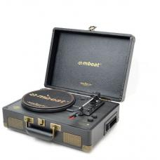 mbeat Uptown Retro Bluetooth Turntable & Cassette Player MB-TR166BLK