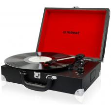 mbeatRetro Briefcase-styled USB Turntable Recorder USB-TR88