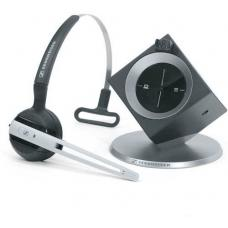 Sennheiser DW Office (Dual Connectivity) DECT Headset, Noise Cancelling Microphone, Headband or Ear Hook, 8 Hours Talk Time, 2 Years Warranty DW 10 -AUS