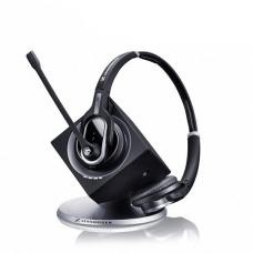 Sennheiser DW Pro 2 USB (Dual Connectivity) Headset, DW30, 8 Hours Talk time, Noise Cancelling Microphone, 180m Wireless Range, 2 Years Warranty DW 30 - AUS