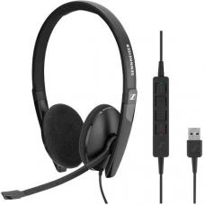 EPOS | Sennheiser ADAPT SC160 USB Wired binaural USB headset. Skype for Business certified and UC optimized. 508315