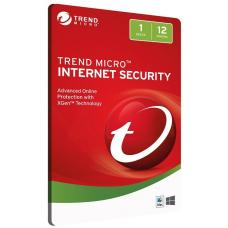 Trend Micro Internet Security 1D 12MTH Retail Digital Download Card 3742717