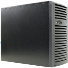 SuperMicro SuperChassis 731i-300B, Mini Tower, Suits Micro ATX MB, 2 x Front USB 2.0, 2 x 5.25' HDD bays, 4 x 3.5' HDD Bays, No PSU, Black 731i-000NBP