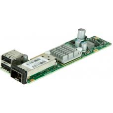 SuperMicro 1Pt 10GB SFP Adapte LC Fibre & Twin Axial Connect AOC-CTG-I1S