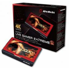 AVerMedia GC551 Live Gamer Extreme 2. 4K Pass-Through * Only for USB 3.0 / 3.1 (Gen 1) Chipset Capture device. Record 1080p @ 60 fp. 61GC5510A0AP